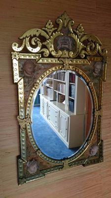 Large 20th-century Venetian mirror