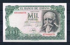 Spain - Lot of 14 different banknotes from Spain