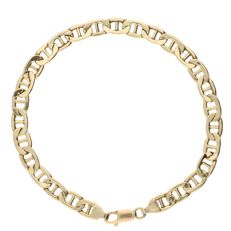 14 kt - Yellow gold, curb link bracelet - Length: 20.5 cm