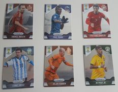 Panini - Prizm World Cup 2014 - Trading Cards - Complete set of 201 cards.