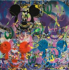 Jeannette Amsterdam - Mickey Mouse collage #4
