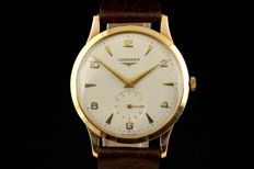 Longines 18k gold- classic from 50-ties