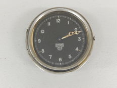 Very Clean Vintage Dashboard Smiths Wind Up Car Auto Clock with Swing Motion Function - Winds and Ticks fine