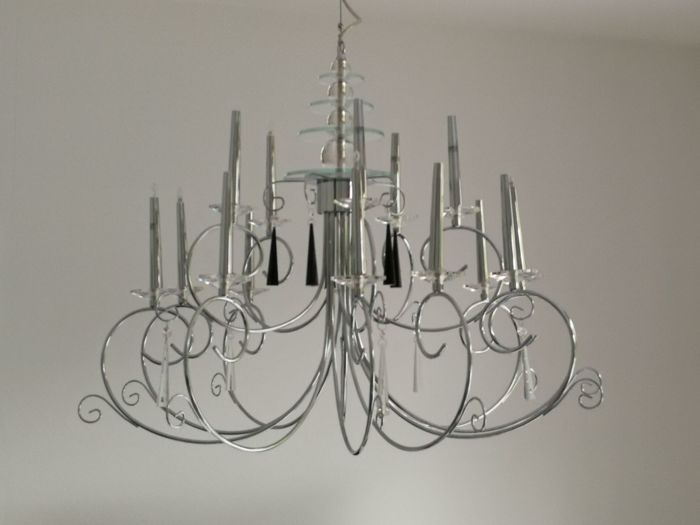 Beautiful modern chandelier