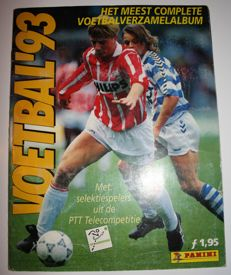 Panini - Voetbal 93 - Dutch league - Complete album.