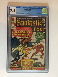 Marvel Comics - The Fantastic Four #34 - CGC Graded 7.5 -  1x sc - (1965)