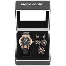 Pierre Cardin - lady's gift-set,watch and jewelry - PCX0312L212 - Feminin - 2011-prezent