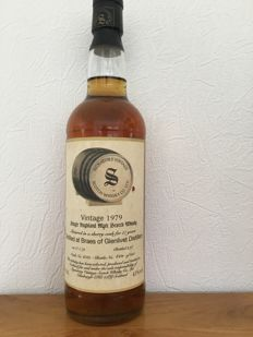 Braes of Glenlivet 1979 - cask 6081 - bottled 1997 - Signatory Vintage