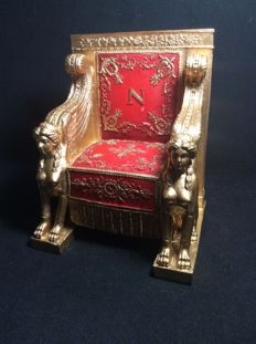 Throne of Napoleon 1st at the Senate