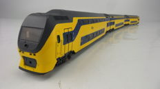 Lima H0 - 149857S - Electric 3-part double deck passenger train set IRM 1st/2nd class of the NS
