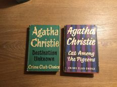 Agatha Christie - Cat Among the Pigeons + Destination Unknown - 1954/1959