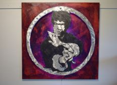 Oliver Franneck (Oleg) - Bruce Lee on brushed metal