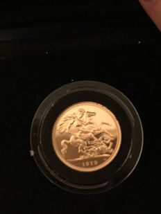 United Kingdom - Sovereign 1979 - Elizabeth II - gold