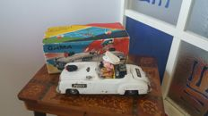 Gama, Western Germany - L. 24 cm - tin Mercedes battery-operated, 1960s