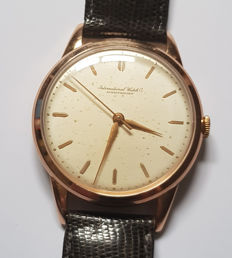 Classic IWC- 18 kt Gold wristwatch – Switzerland circa 1965