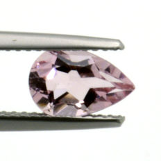Pink morganite - 1.27 ct - No Reserve Price