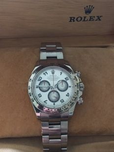 Rolex Daytona Cosmograph all solid White Gold - Like New-