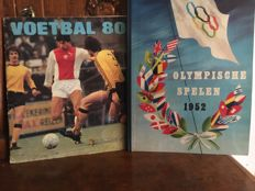 Variant of Panini + Panini - Olympic Games 1952 + Voetbal 80 - 2 complete albums
