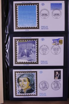 France 1992/2002 - Complete collection of FDCs in four albums