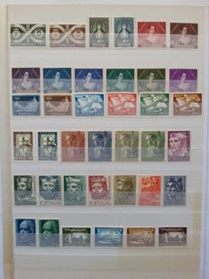 Portugal 1953/1960 – Selection of Stamps in Complete Sets.