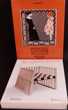 2 books by Koloman Moser