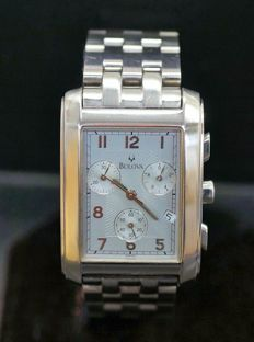 Bulova Chronograph Watch, ref 46801
