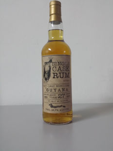Rum Uitvlugt distilled in Guyana 27 Years