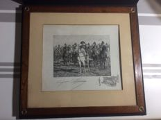 Meissonnier 1860 - Napoleon 1st lithography