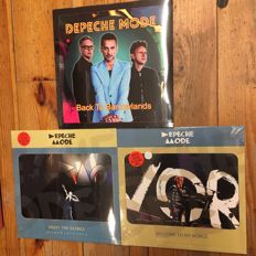 Depeche Mode Live Recordings || 3x LP || Limited Editions + Colored Vinyl