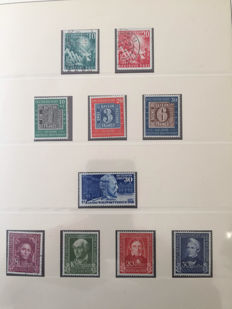 Federal Republic 1949-1971 collection complete up to 1 stamp.
