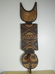 Large board mask - BWA, MOSSI - Burkina Faso