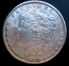 "United States, 1 dollar, ""Morgan"", 1900, silver"