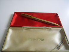 Superb Waterman Gold Plated Pantabille Pen in superb condition with 4 working cartridges.