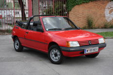 PEUGEOT 205 CT Convertible, Year of production: 1987, in excellent original condition, only 14.800km!