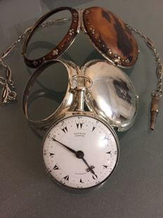 George Prior of London - important verge fusée pocket watch - ca 1810