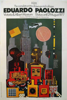 Eduardo Paolozzi (after) - The complete prints, drawings and collages - 1977