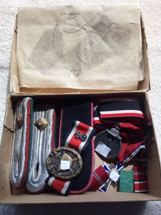 Lot of medals WW II
