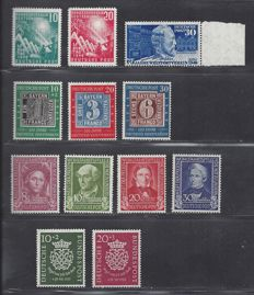 Federal Republic of Germany 1949/1950 - Two complete years