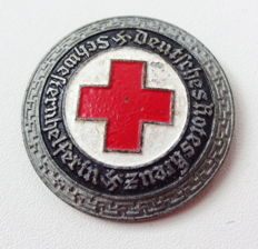 German Red Cross (DRK), nurse assistant brooch made of steel - rare