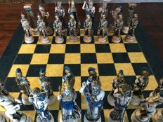 Greek chess set of the gods, the board of directors