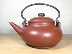 YiXing Chinese Teapot - Zhuni Clay - China - 19th Century