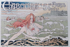 Henri Privat-Livemont (1861-1936) - poster 'Casino de Cabourg 1896' from the Les Maîtres de l'affiche series