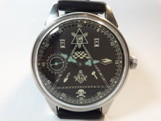 Molnija - marriage watch. masonic - men's  watch 1970s.