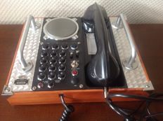 Field telephone Spirit of St. Louis replica 1930s, SOSL collection.