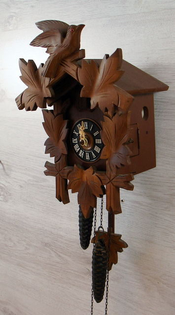 Cuckoo clock - West Germany, 2nd half of the 20th century