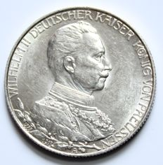 Prussia – 2 Mark 1913 A Government anniversary