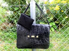 IRV Siegel - crocodile bag with wallet