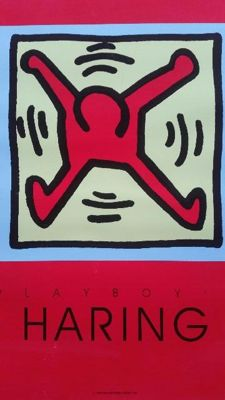 Keith Haring - Playboy (red edition)