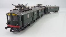 "Roco H0 - 4190S - Electric 2-piece Passenger train set ""Blokkendoos Mat'24"" 2nd/3rd class of the NS"