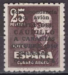 Spain 1951 - Caudillo visit to Canary Islands - Edifil 1090.